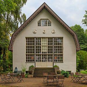 Das Haus von Berthold Brecht und Helene Weigl in Buckow bei Berlin.